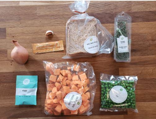 Dimensions Inches Meal Kit Delivery Service Hellofresh